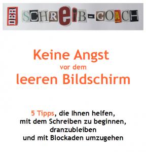 Kostenloses E-Book: Keine Angst vor dem leeren Bildschirm
