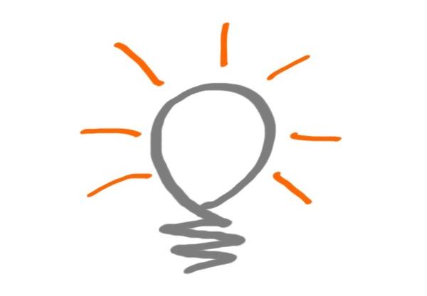 Kreativitätstechniken - Glühbirne
