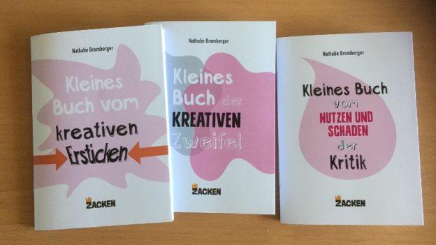 Die drei kleinen Bücher über die kreative Arbeit