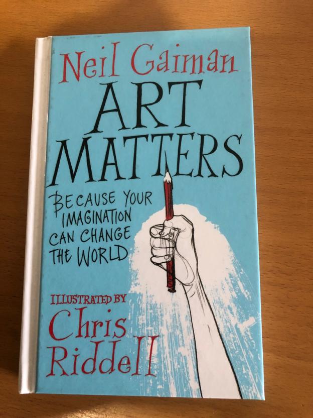 Gaiman Art Matters